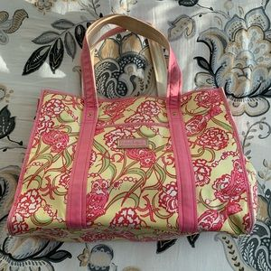 Lilly Pulitzer Chi Omega tote